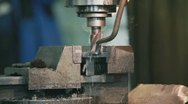 Stock Video Footage of Milling Machine