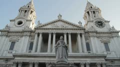 St Pauls London London Day 3-1-25 Stock Footage