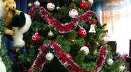 Christmas toys Stock Footage
