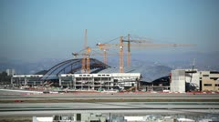 LAX Construction HD Stock Footage