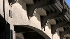 Under Bridge Stock Footage