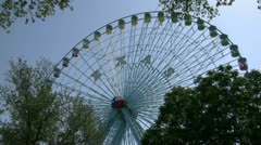 Ferris Wheel At State Fair Of Texas Stock Footage