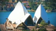 Sydney Opera House Timelapse Stock Footage
