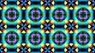 Stock Video Footage of KaleidoColorsStepBIGLoop30Sec - 1