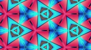Stock Video Footage of KaleidoColorsStepLoop30Sec - 1