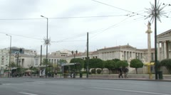 National Academy of Athens - stock footage