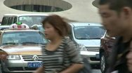 Stock Video Footage of Shanghai traffic 18