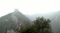 Great wall of China 4 Stock Footage