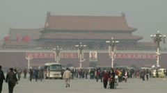 Tiananmen Square 5 - stock footage