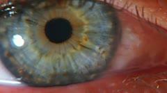 Extreme eye II Stock Footage