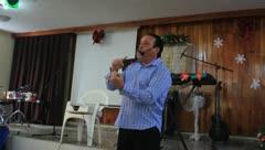 Sermon(HD)c - stock footage