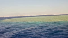View on reef Stock Footage