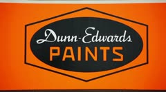 Dunn Edwards Paint HD Stock Footage