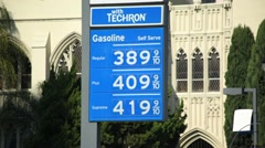 Gas Prices 01 HD - stock footage