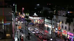 Hollywood Blvd 03 HD Stock Footage
