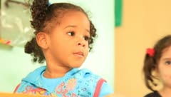 Little Cuban girls (HD) k Stock Footage