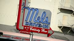 Mels Drive In 02 HD Stock Footage