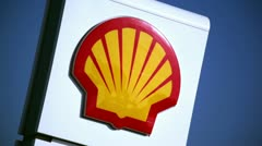 Shell Oil 04 HD - stock footage