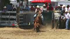 Calf Roping 2 - stock footage
