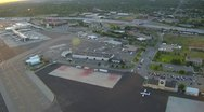 Stock Video Footage of Aerial footage of Boise, Idaho airport