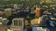Stock Video Footage of Aerial of downtown core of Boise, Idaho