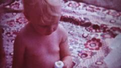 PICNIC - vintage 8 mm Stock Footage