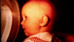 Happy Baby - Vintage Super 8 Film Stock Footage