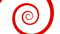 The Red Spiral Stock Footage