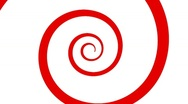 Stock Video Footage of The Red Spiral