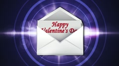Valentine's Day in Letter 2 - HD1080 Stock Footage