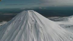 Tongariro National park 3 Stock Footage