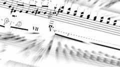 Music rotated Stock Footage
