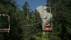 Chair lift - stock footage