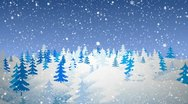 Winter day Stock Footage