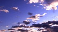 Stock Video Footage of clouds 01 time lapse