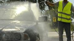 Car Wash; Full HD Photo JPEG Stock Footage
