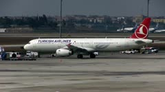 Turkish airlines Stock Footage