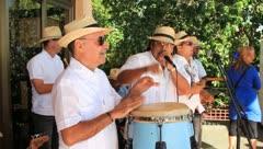 Cuban band Stock Footage