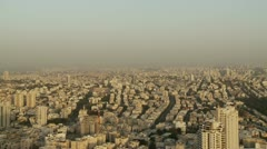 Tel Aviv day view pan 3 Stock Footage