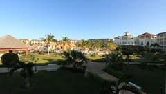Five star Cuban resort Stock Footage