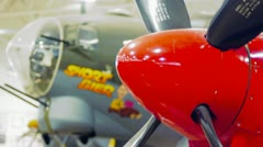 P51 mustang - stock footage