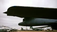 B-1 bomber Stock Footage