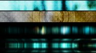 Four Looping Abstract Lower Thirds Stock Footage