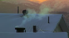 steam - stock footage