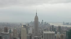 Empire State Building - Downtown NYC Stock Footage