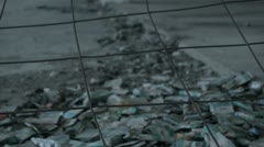 Crack-house detail [graded] _1 Stock Footage