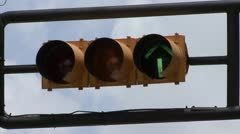 Traffic light Stock Footage