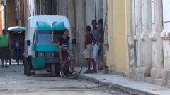 Cuba Old Havana Street Life 3 - stock footage