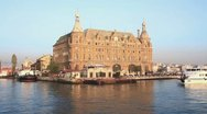 Stock Video Footage of Historical Haydarpasa Station, Istanbul