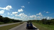 Pov Driving Road Summer Stock Footage